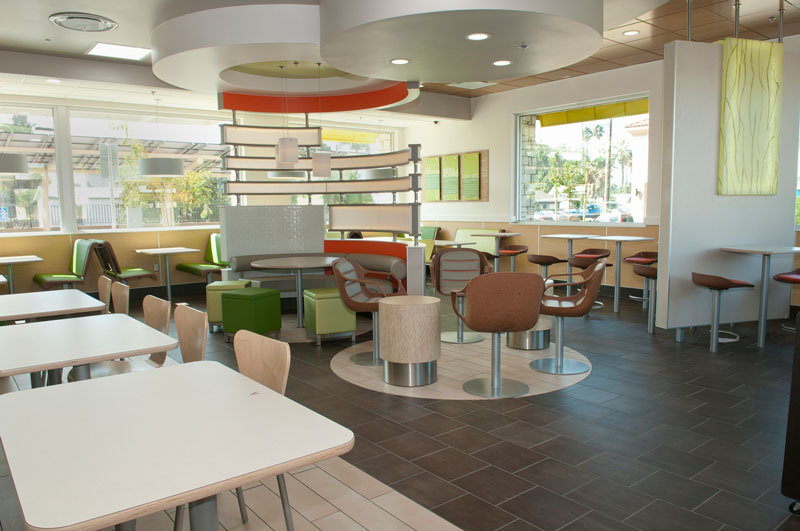 interior of McDonalds